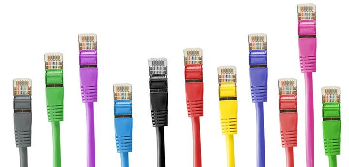 Bild på TP-kablar