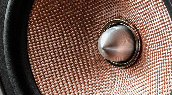 Bild på en högtalare